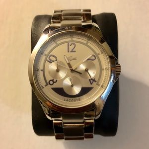 NWT- Lacoste Sofia Stainless Steel Women's Watch